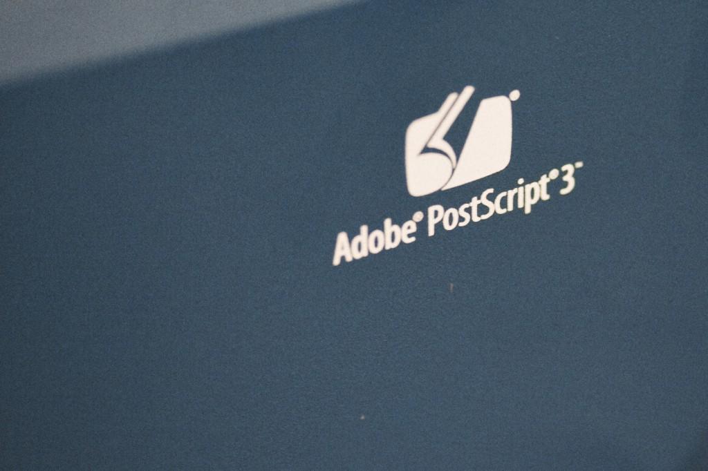 Riso IS300, RIP Adobe Postscipt Level 3.