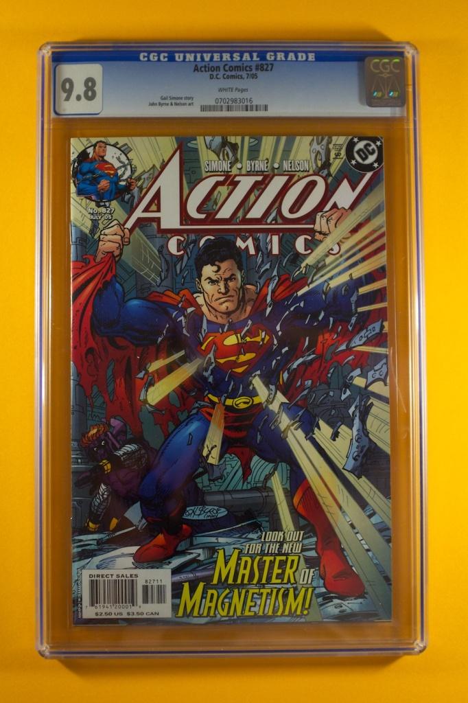 Action Comic #827 CGC 9.8