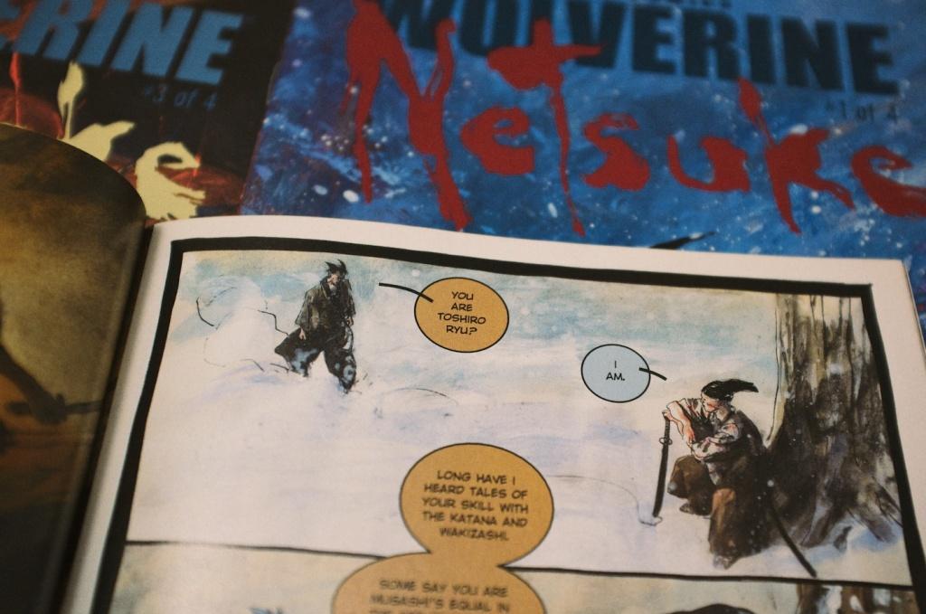Wolverine: Netsuke